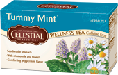 Featured Tea - Tummy Mint Wellness Tea - Click Here to Learn More