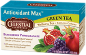 Featured Tea - Antioxidant Max Green Tea Blackberry Pomegranate  - Click Here to Learn More