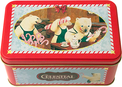 Candy Cane Lane Tin