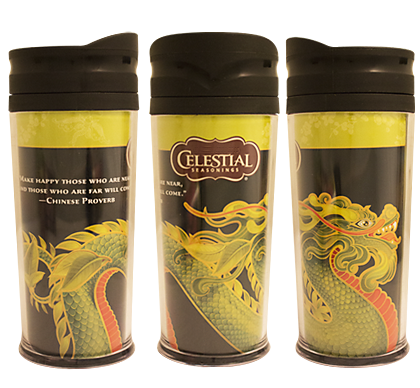 Authentic Green Tea Travel Mug