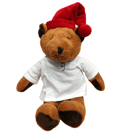 Sleepytime Plush Bear with Celestial Seasonings Logo