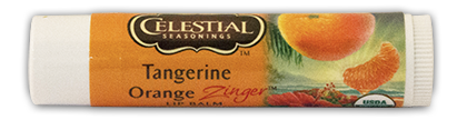 Tangerine Orange Zinger Lip Balm