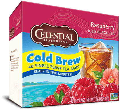 Raspberry Cold Brew Iced Black Tea