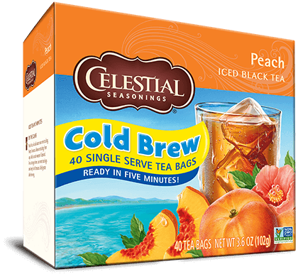 Peach Cool Brew Iced Black Tea