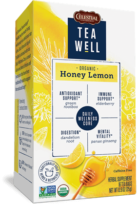 TeaWell Organic Honey Lemon