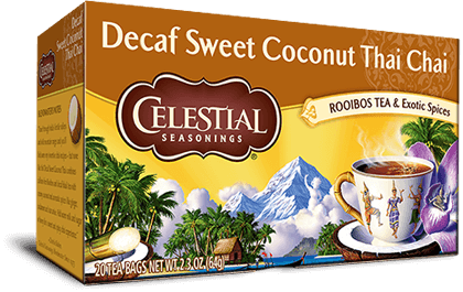 Decaf Sweet Coconut Thai Chai Tea