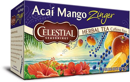 Acaí Mango Zinger Herbal Tea