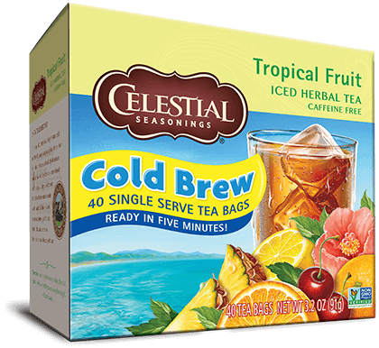 Tropical Fruit Cold Brew Iced Herbal Tea