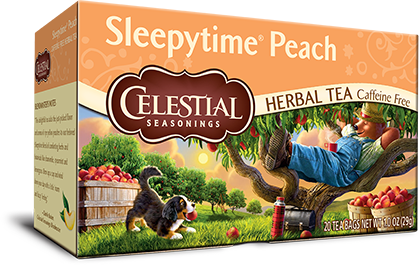 Sleepytime Peach Herbal Tea