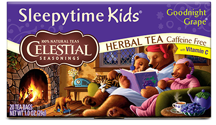 Sleepytime Kids Goodnight Grape Herbal Tea