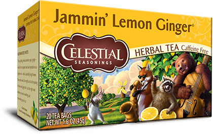 Jammin' Lemon Ginger Herbal Tea