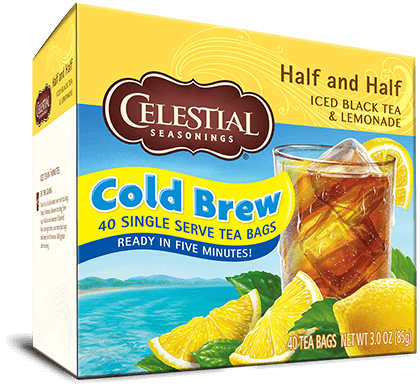 Half and Half Cool Brew Iced Tea