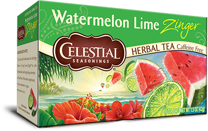 Watermelon Lime Zinger Herbal Tea