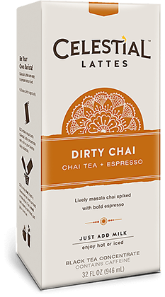 Dirty Chai Tea Latte (Concentrate)