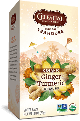 Ginger & Turmeric Organic Herbal Tea