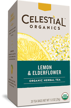 Lemon & Elderflower Organic Herbal Tea