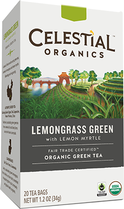 Fair Trade Organic Lemongrass Green