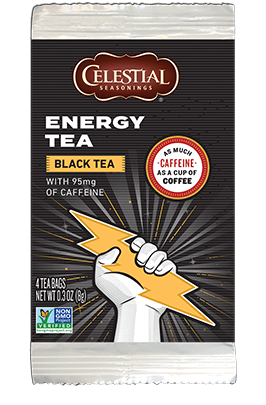 Energy Black Tea Packet