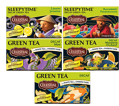 Decaf Green Tea Variety 12-Pack