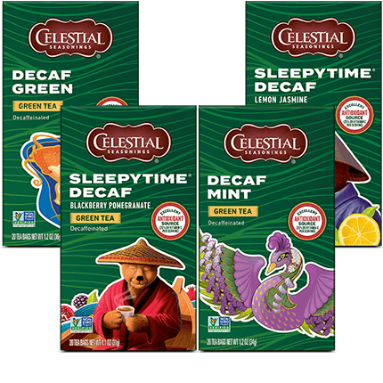 Decaf Green Tea Variety 16-Pack