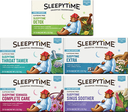 Sleepytime Wellness Tea Variety 16-Pack