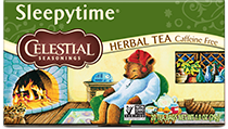 Click here to purchase Sleepytime Classic Herbal Tea