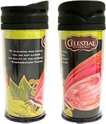 Raspberry Gardens Green Tea Travel Mug [cel-000979.jpg] - Click for More Information