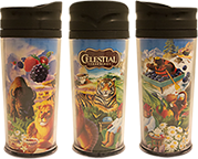 Collage of Artwork Travel Mug [cel-000990.jpg] - Click for More Information