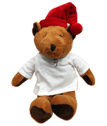 Sleepytime Plush Bear with Celestial Seasonings Logo [cel-001333.jpg] - Click for More Information