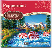 Peppermint Herbal Tea (40 Count) - Click for More Information
