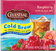Raspberry Cool Brew Iced Black Tea - Buy Now