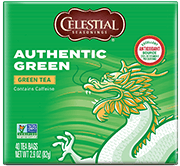 Authentic Green Tea (40 Count) [cel-005015.jpg] - Click for More Information