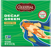 Decaf Green Tea (40 Count) [cel-005152.jpg] - Click for More Information