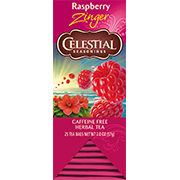 Raspberry Zinger Herbal Tea - Click for More Information