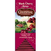 Image of Black Cherry Berry Herbal Tea packaging