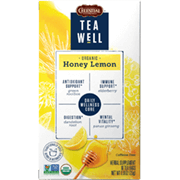 TeaWell Organic Honey Lemon - Click for More Information