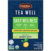 TeaWell Organic Ginger Mint - Click for More Information