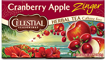 Cranberry Apple Zinger Herbal Tea - Buy Now