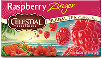 Raspberry Zinger Herbal Tea - Buy Now