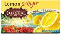 Click here to purchase Lemon Zinger Herbal Tea