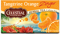 Tangerine Orange Zinger Herbal Tea - Buy Now