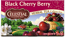 Click here to purchase Black Cherry Berry Herbal Tea