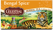 Click here to purchase Bengal Spice Herbal Tea