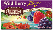 Wild Berry Zinger Herbal Tea - Buy Now