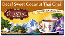 Decaf Sweet Coconut Thai Chai Tea - Click for More Information