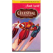 Click here to purchase Fast Lane Caffeinated Black Tea
