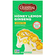 Honey Lemon Ginseng Green Tea - Click for More Information