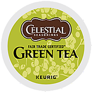 Fair Trade Green Tea K-Cup Pods - Click for More Information