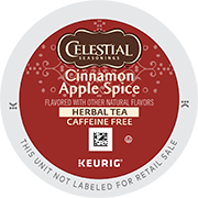 Cinnamon Apple Spice Herbal Tea K-Cup Pods - Click for More Information