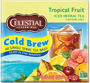 Tropical Fruit Cool Brew Iced Herbal Tea - Buy Now